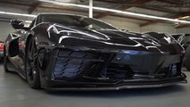 2020 Chevrolet Corvette Riding Low With Air Suspension