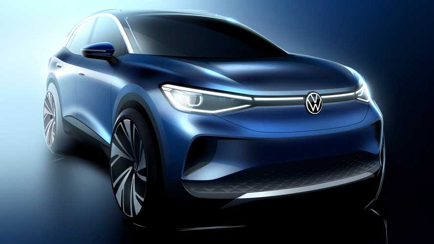 VW ID.4 shows off its bold exterior design ahead of debut