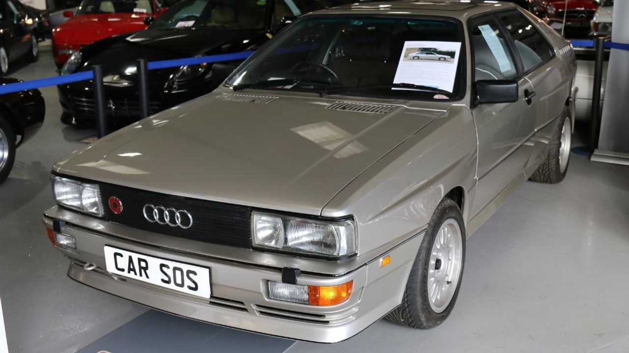 'Car SOS' Audi Quattro sold at auction for cancer charity