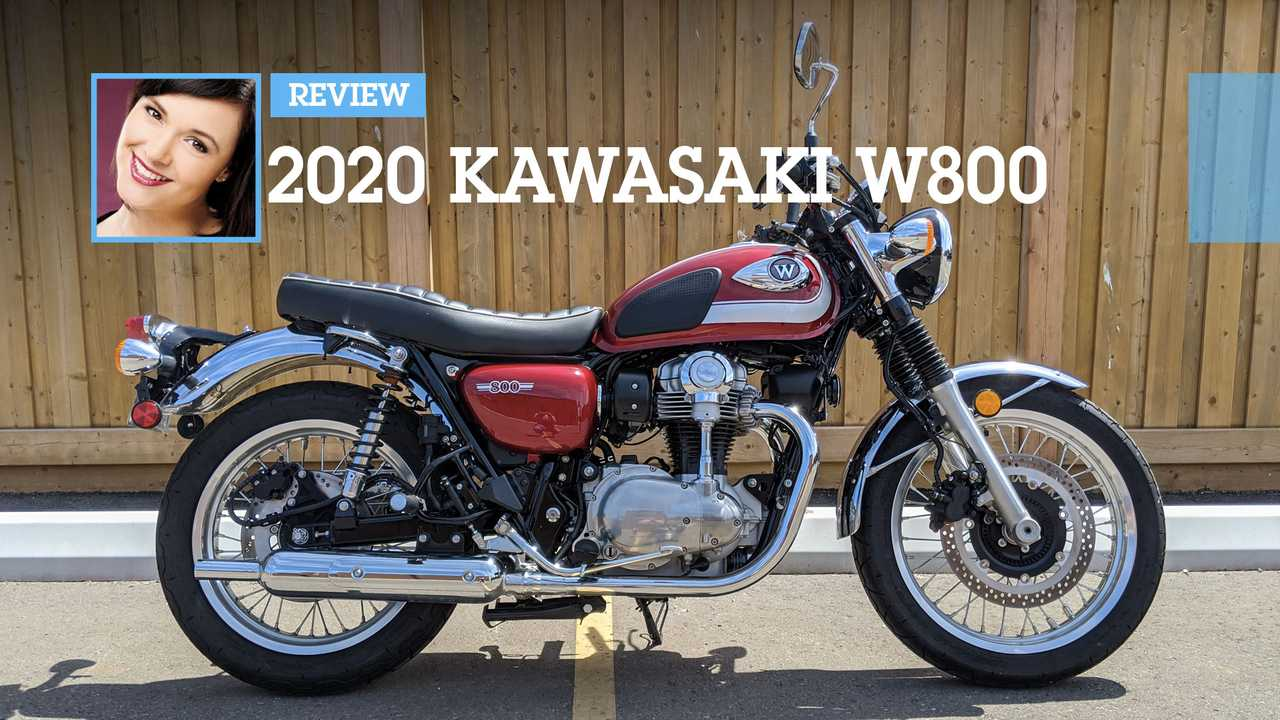 Review: 2020 Kawasaki W800  Main