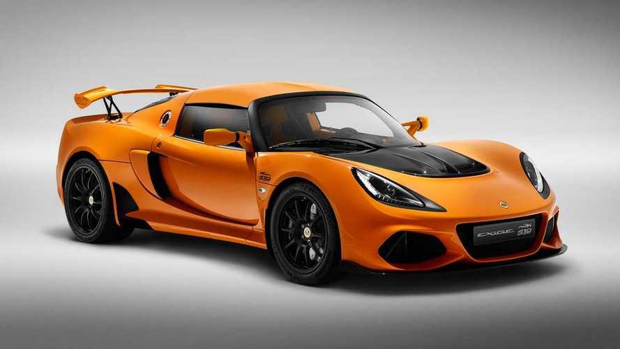 Serie speciale per la Lotus Exige con la 20th Anniversary Edition