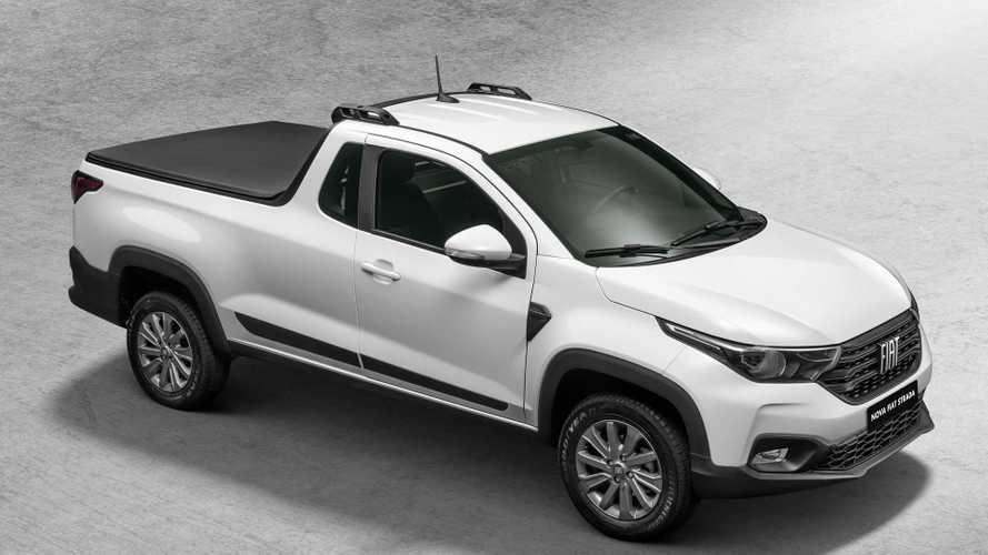 """Nova Fiat Strada """"cabine plus"""" será o nome da versão de duas portas da picape"""