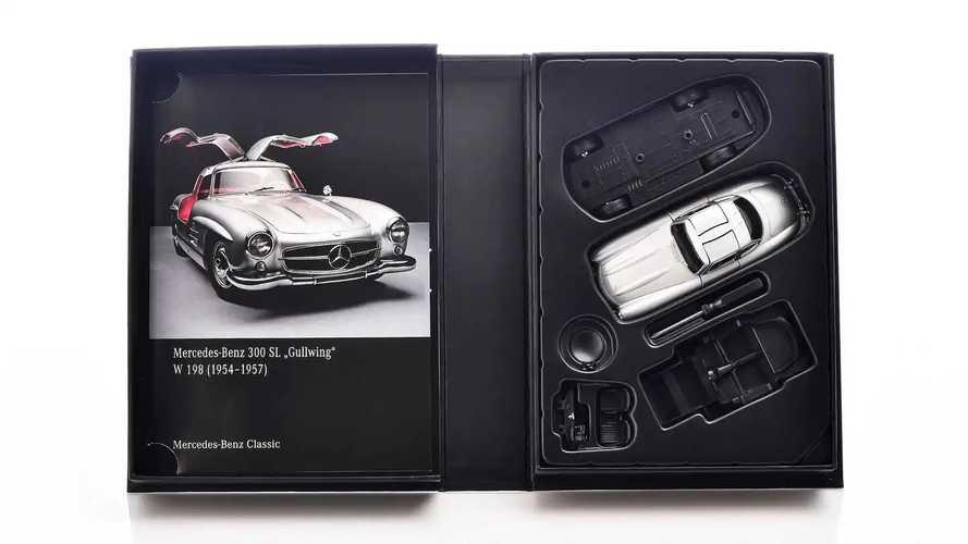 Modellino Mercedes 300 SL Gullwing in scala 1:38