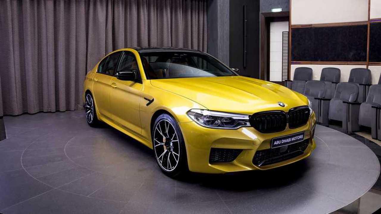 BMW M5 Competition de Abu Dhabi Motors