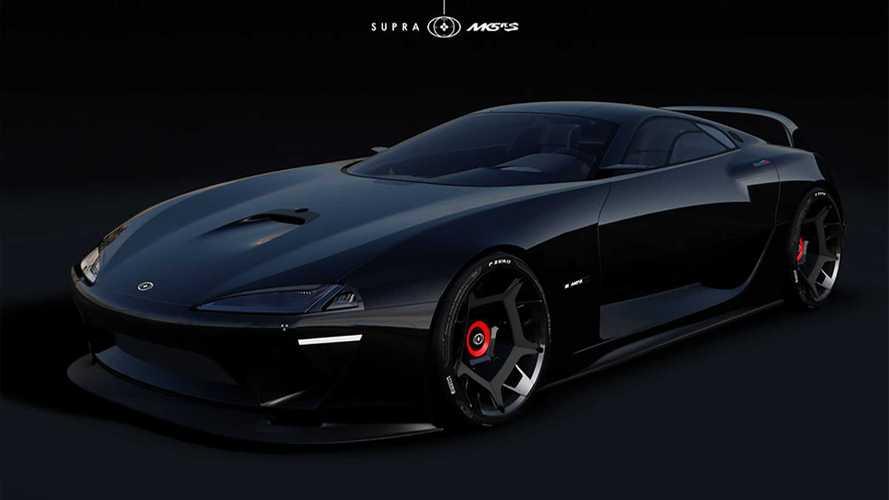 Toyota Supra renderings imagine car with retro-inspired design