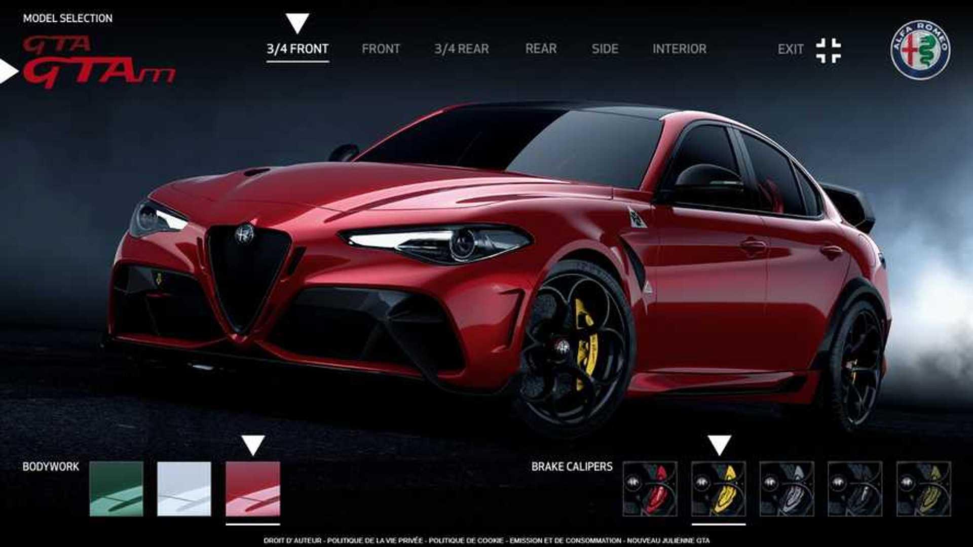 Voici les prix des Alfa Romeo Giulia GTA et GTAm