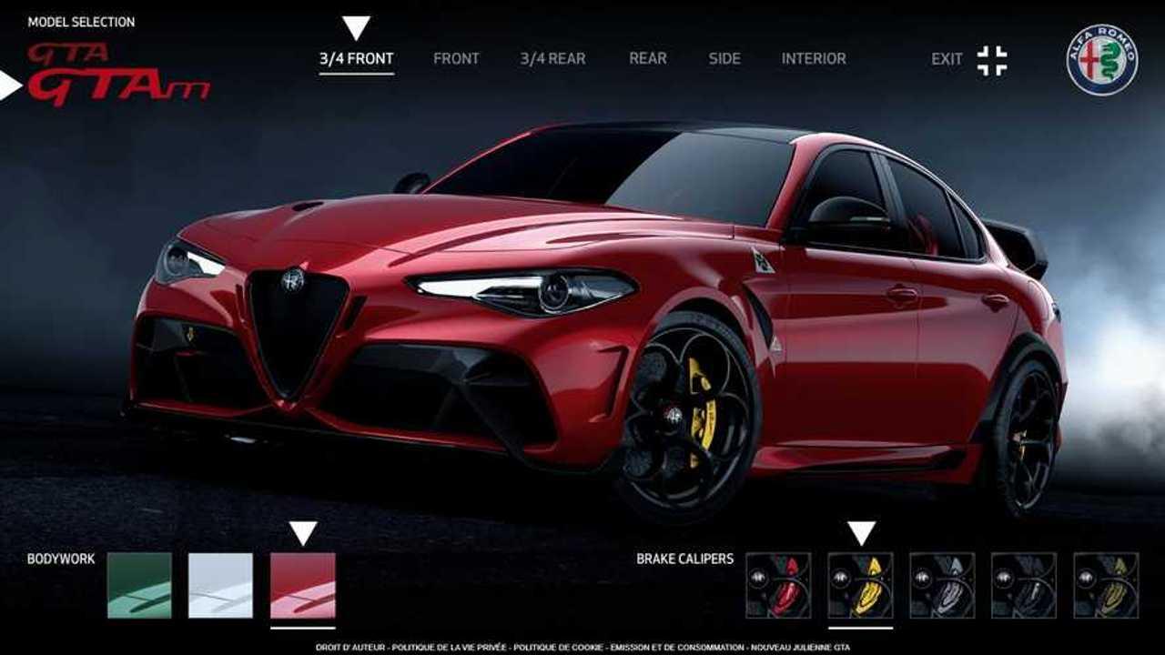 Configurateur Alfa Romeo Giulia GTA