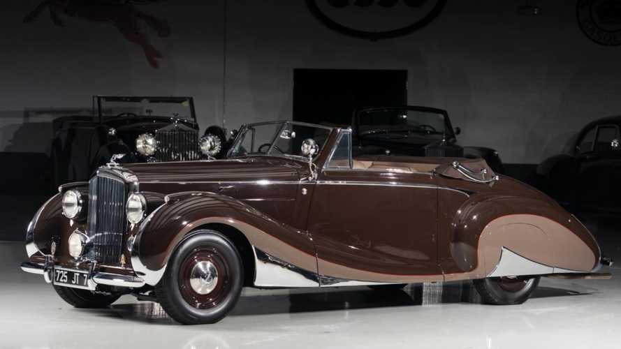 One-of-a-kind 1947 Bentley Mark VI is a literal show-stealer