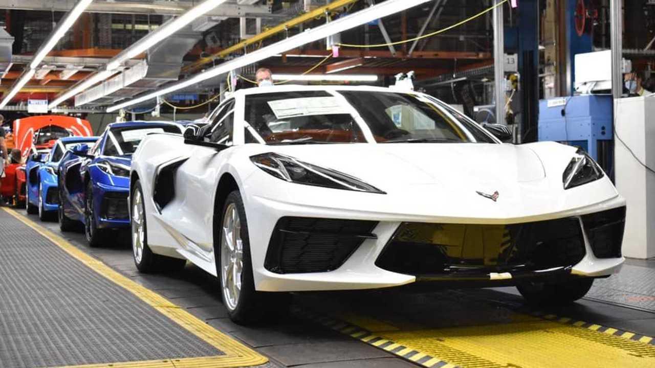 The 1,750,000th Chevy Corvette