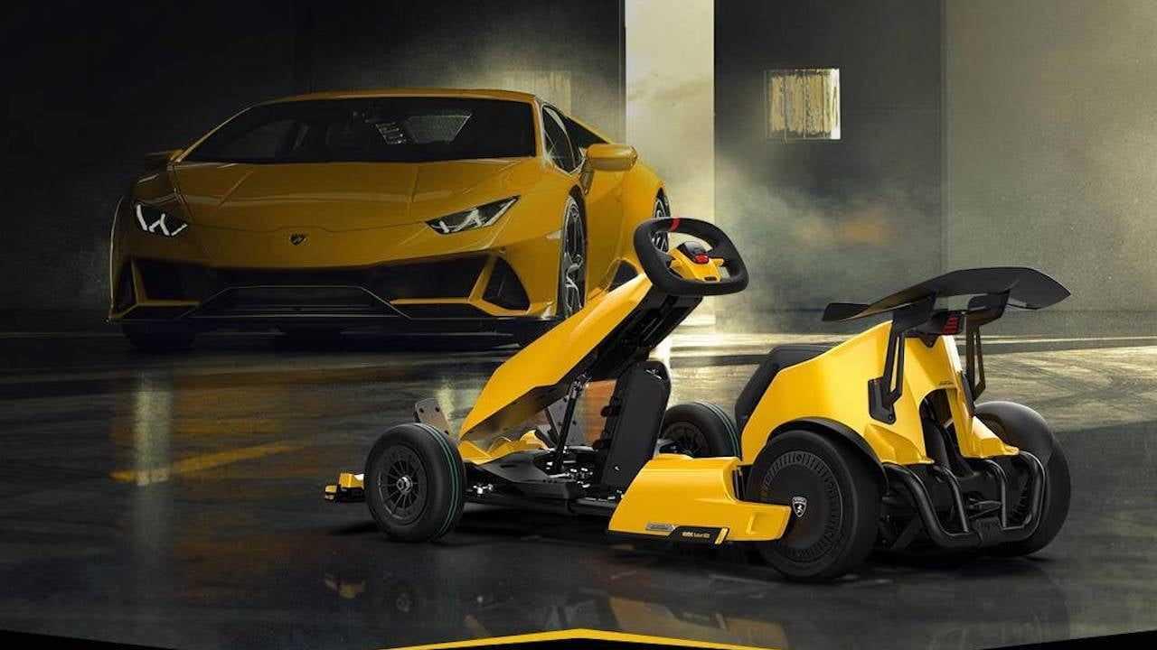 Xiaomi Ninebot GoKart Pro Lamborghini
