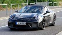Porsche 911 GTS Targa, le foto spia