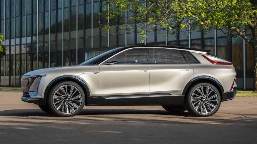 Cadillac привезет в Россию кроссовер Lyriq
