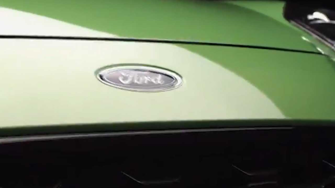 Ford Puma ST teaser image from video