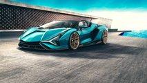 Lamborghini Sian Roadster (2020): Offener Wild-Hybrid