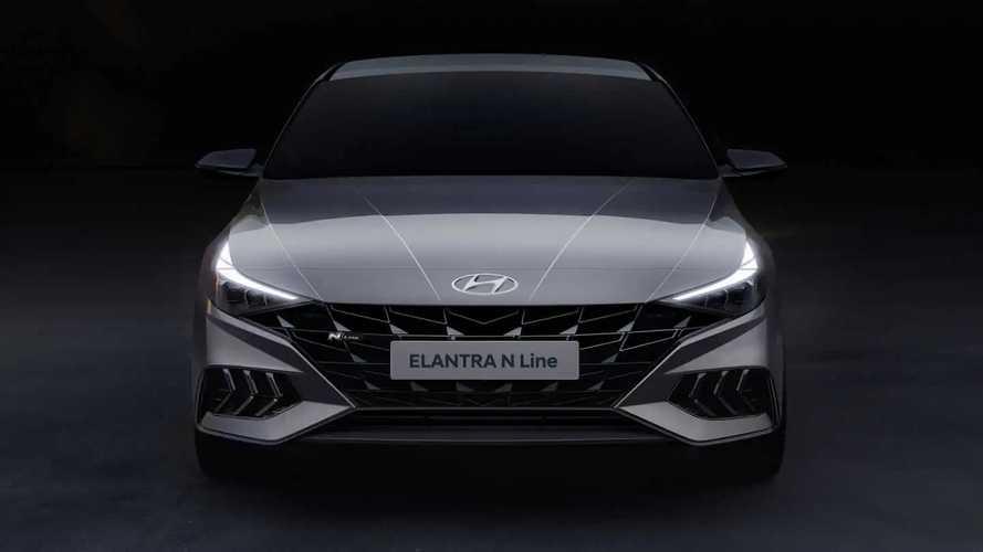 Тизеры Hyundai Elantra N Line