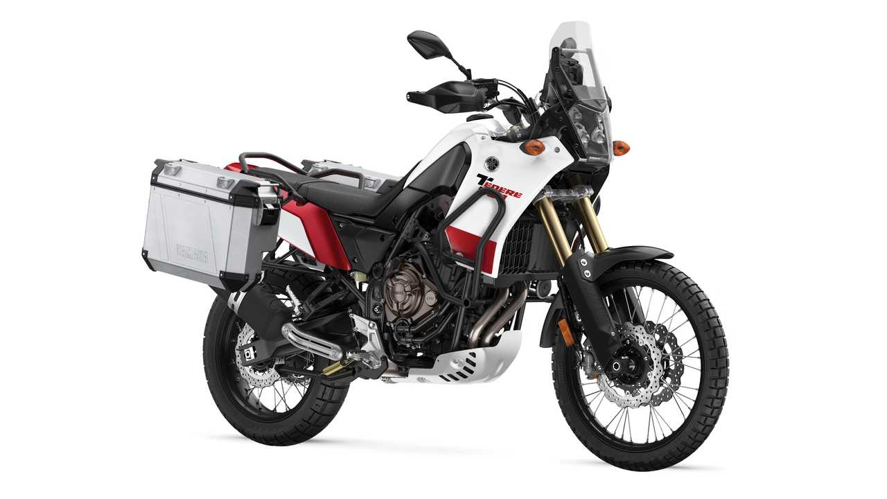 2021 Yamaha Ténéré 700 Intensity White With Tour Pack