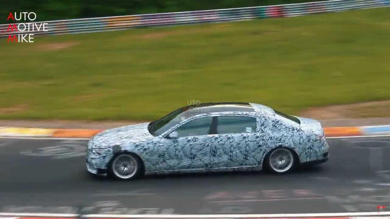 Mercedes-Maybach S-Serisi casus videosu