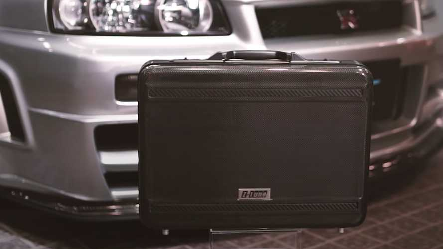 Rare Nissan Skyline GT-R R34 Nismo Z-Tune Briefcase Costs $10,000