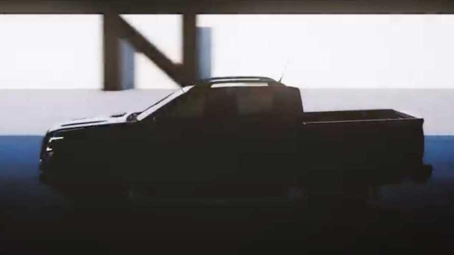 Novas Nissan Frontier 2021 - Teasers
