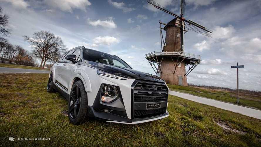 Hyundai Santa Fe от Carlex Design