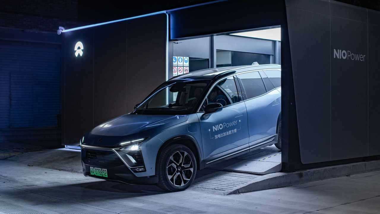 NIO Battery Swap Station