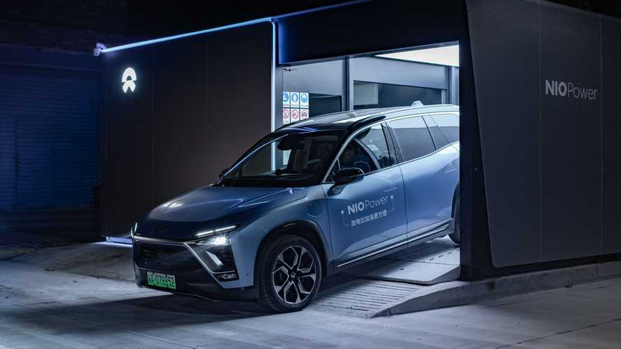 NIO Battery Swap Stations