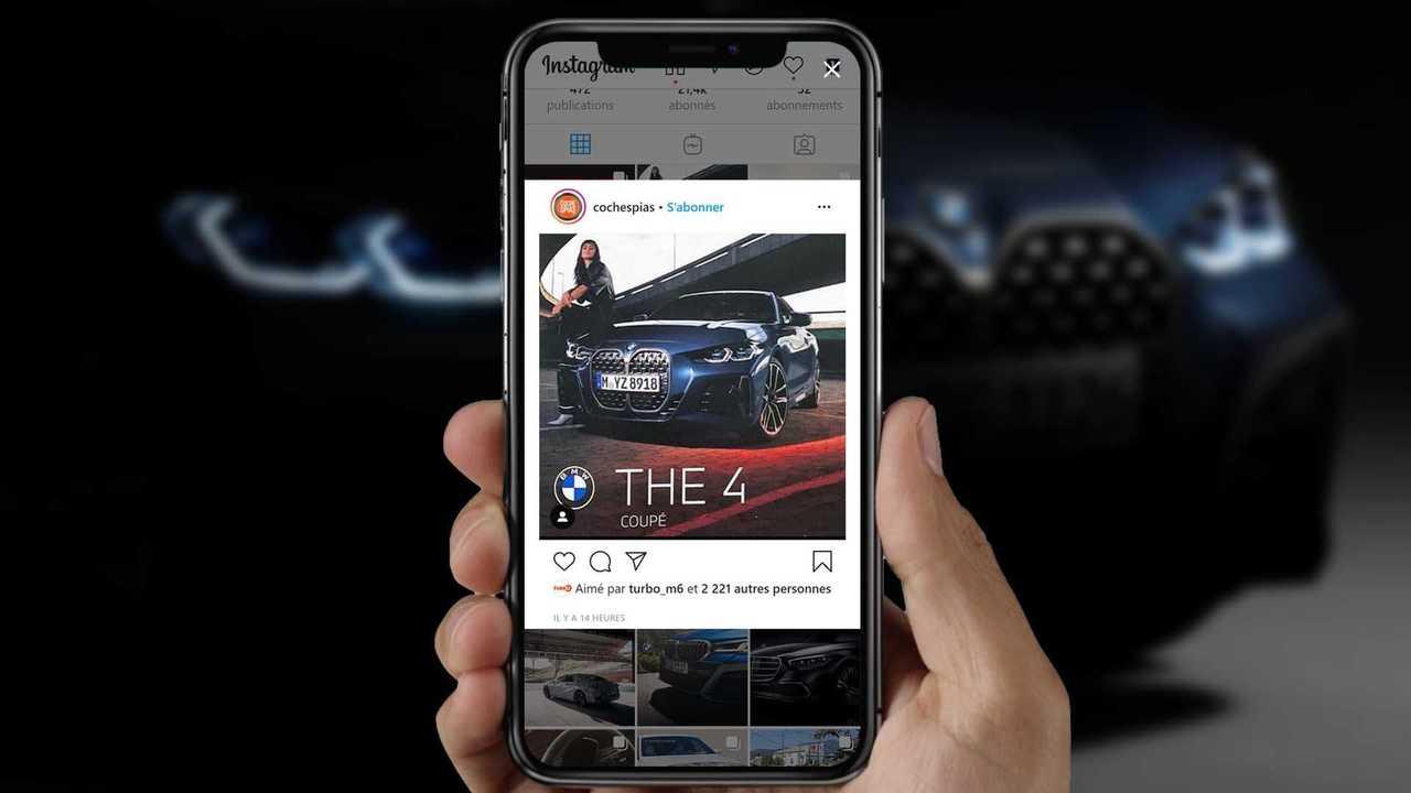 BMW Série 4 leak