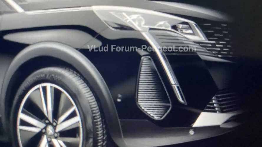 Peugeot 3008 2021 restyling, fotos filtradas