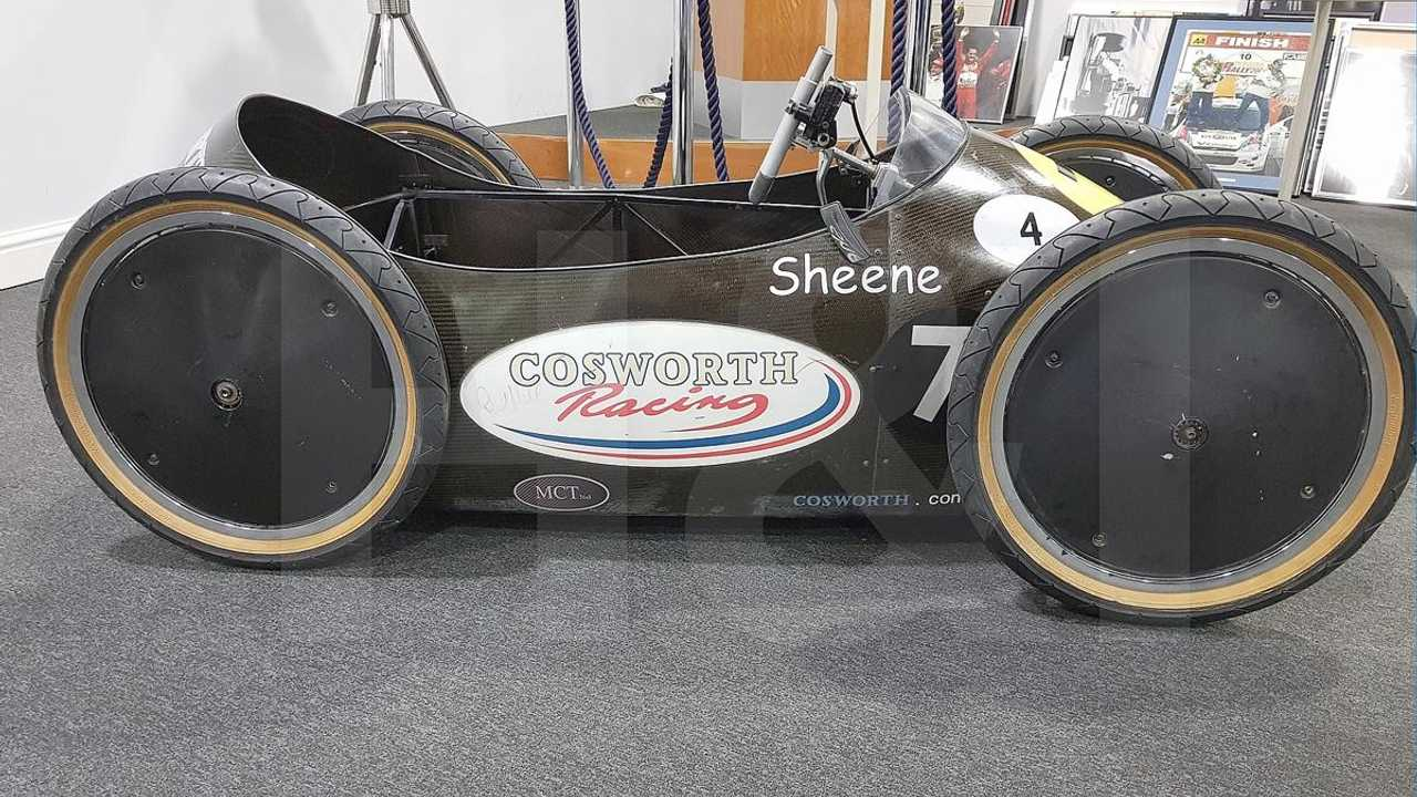 Barry Sheene's Goodwood soapbox racer leads Cosworth auction