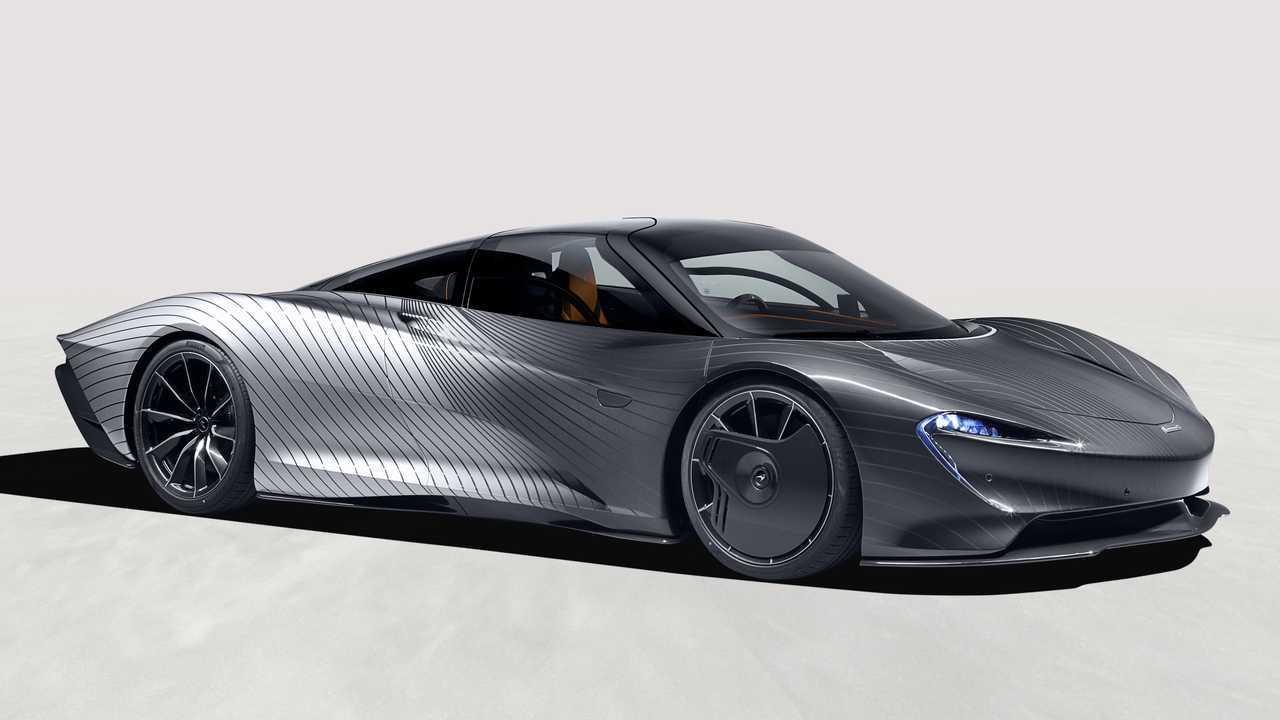 McLaren Speedtail Albert con pintura muy especial