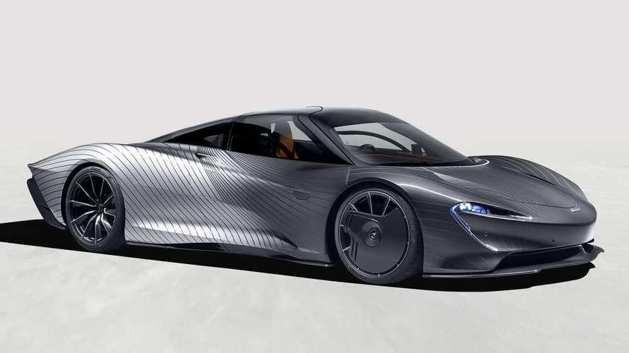 McLaren Speedtail Albert Hadir dengan Balutan Cat Super Rumit