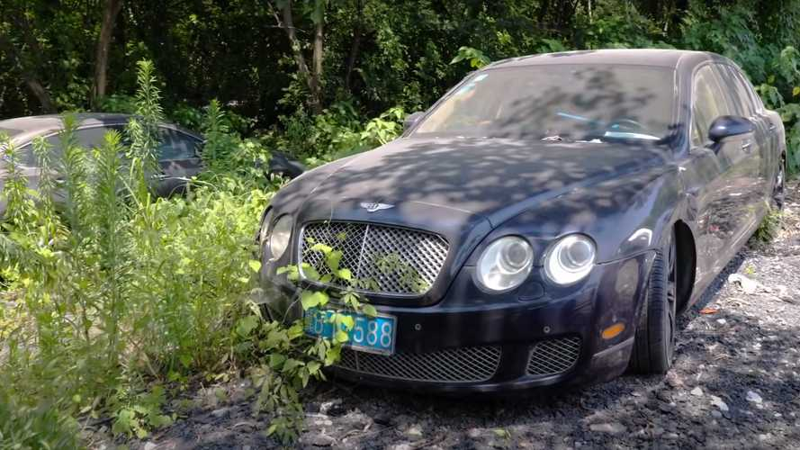 Video Captures Supercars Rotting Away In Chinese Auto Graveyard