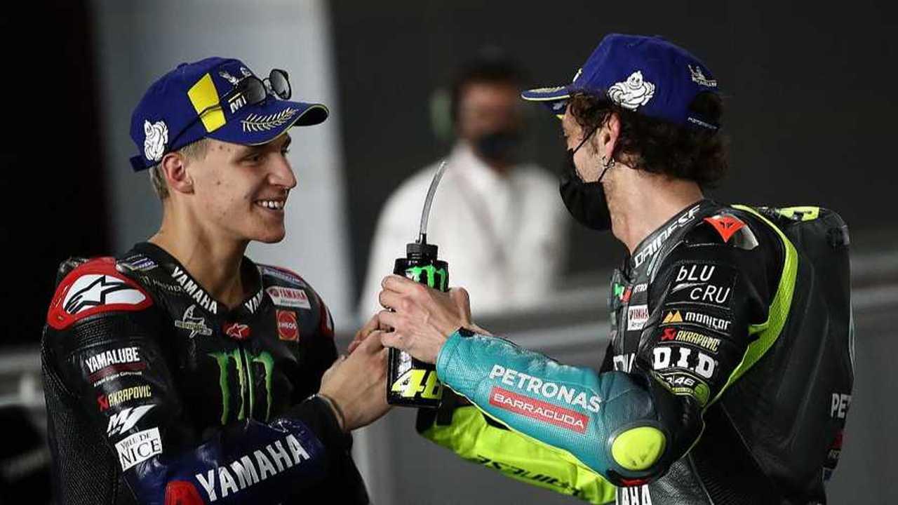 Quartararo and Rossi