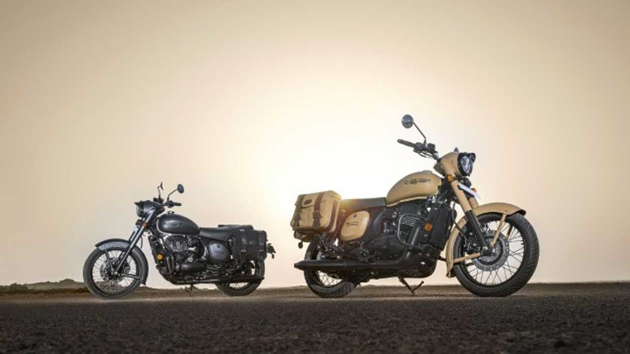 The Jawa Classic Gets Two New Commemorative Color Options