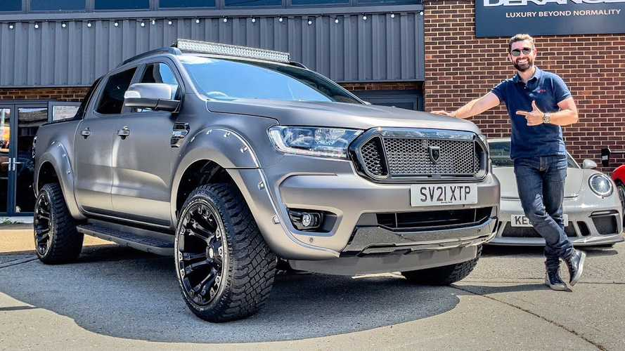 UK: Deranged Ford Ranger Thunder widebody is the perfect truck