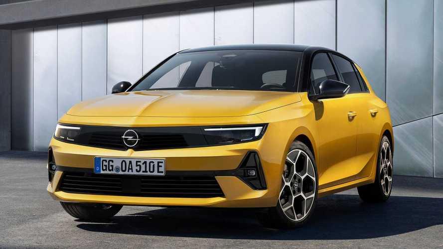 Prix Opel Astra (2021) - À partir de 23 150 euros