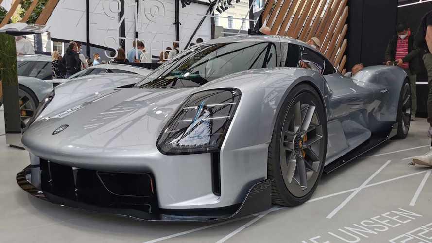 A Porsche kivitte a Müncheni Autószalonra az elkaszált 919-es hiperautót