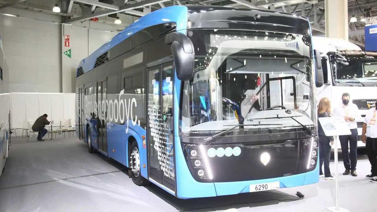 КамАЗ 6290: городской автобус с технологией топливных элементов