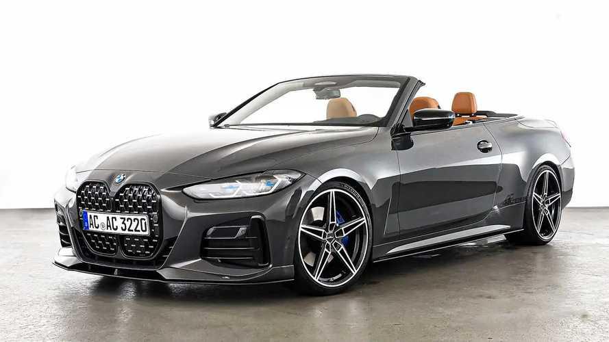 BMW Serie 4 Cabrio, ora è più potente grazie al kit AC Schnitzer
