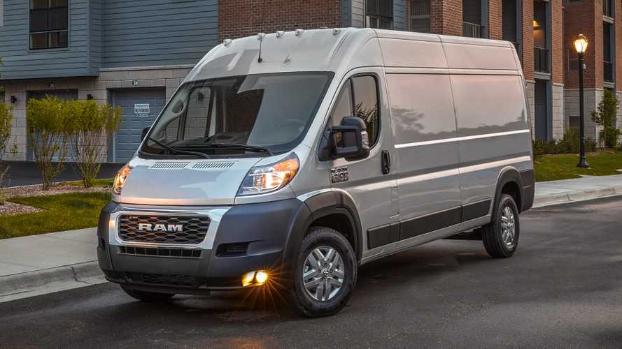 2022 Ram ProMaster Debuts With New Tech, EV Version Arrives 2023