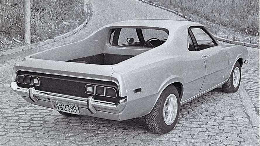 A primeira picape Ford Maverick é carioca e teve só uma unidade