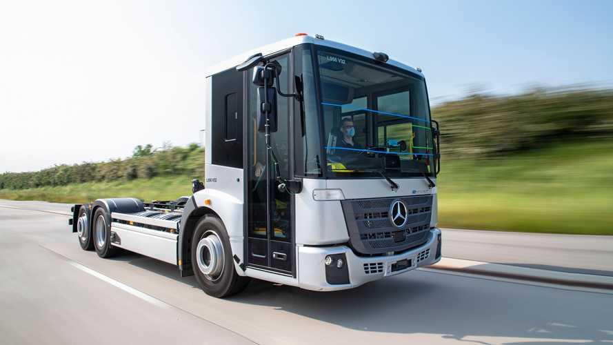 Mercedes-Benz, quasi terminati i test per l'eEconic