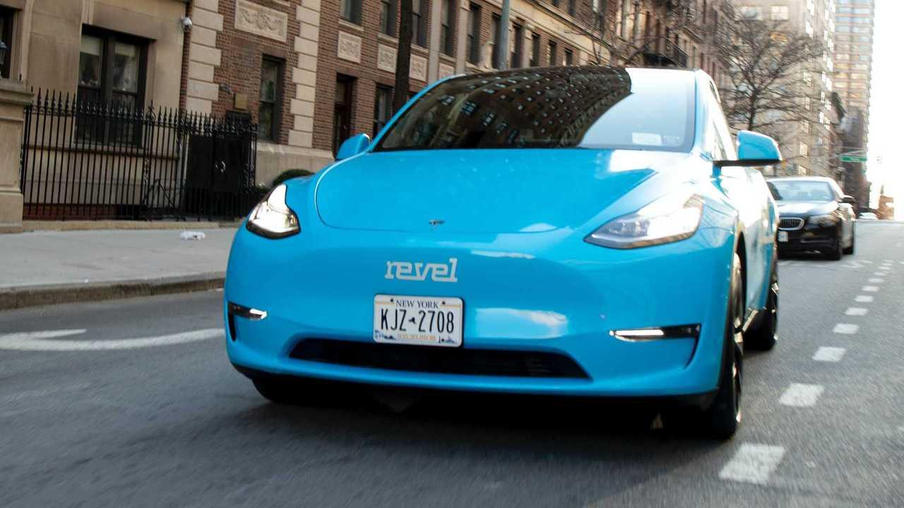 Revel Tesla Model Y Taxi NYC 4