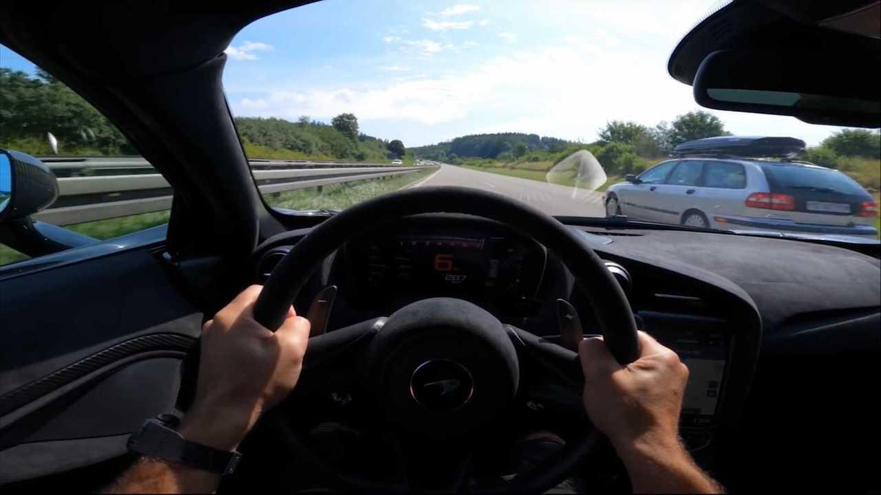 McLaren 765LT Autobahn Video