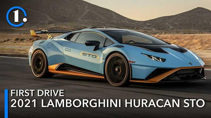 2021 Lamborghini Huracan STO First Drive: Lightning In A Bottle