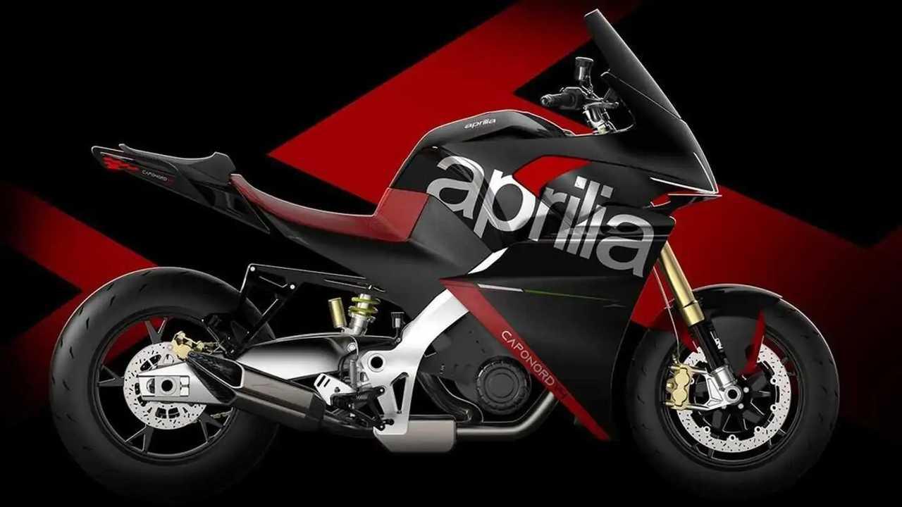 Aprilia Caponord V4 Concept - Side, Right