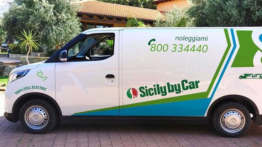 Maxus, furgoni elettrici per la flotta di Sicily by Car