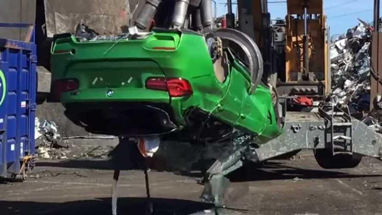 Bezúzott BMW M3