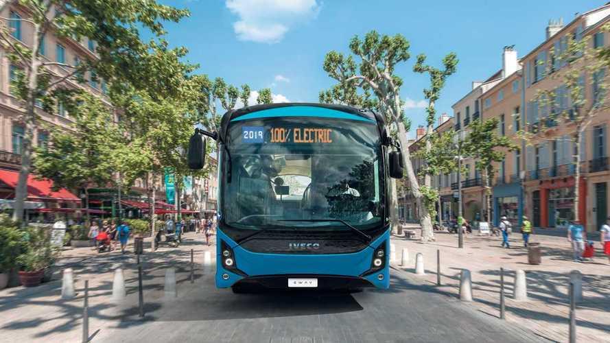 Iveco E-Way, l'autobus elettrico da 543 km di autonomia