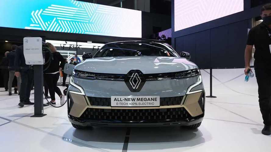 Renault Megane E-Tech Electric at IAA 2021